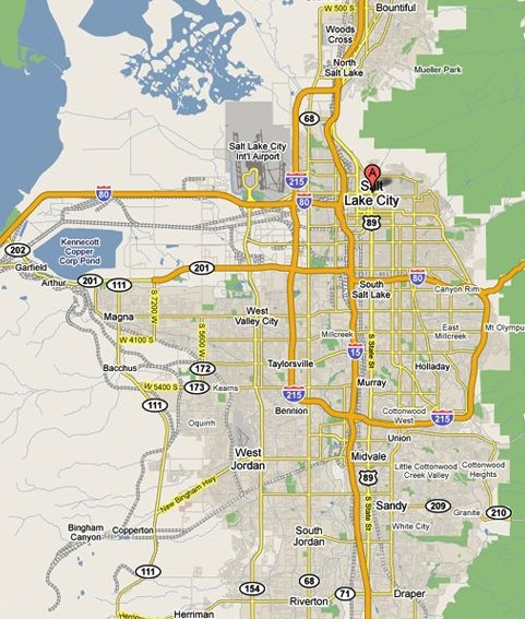 Salt Lake City Maps  An Indepth Guide To Salt Lake City